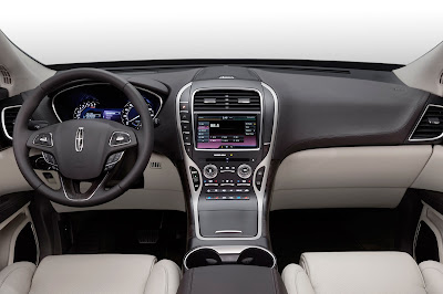2016 Lincoln MKX SUV Crossover interior