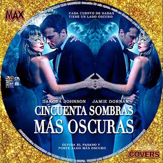 50 Sombras Más Oscuras Galleta Maxcovers
