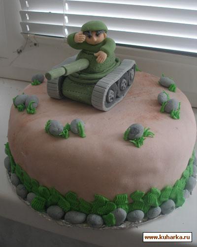 """блюда на 23 февраля, для детей, оформление тортов, торт для мужчины, торт на 23 февраля, торт """"Танк"""", торт военный, блюда военные, торт для мальчика, рецепты мужские, рецепты на День Победы, рецепты армейские, армия, техника, торты для военных, торты """"Транспорт"""", торты армейские, торты на День Победы, рецепты для мужчин, торты праздничные, рецепты праздничные,для военного торт танк на 23 февраля http://prazdnichnymir.ru/"""
