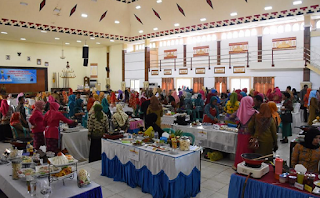 Sekda Lampung Timur Buka Lomba Masak Ikan Tingkat Kabupaten