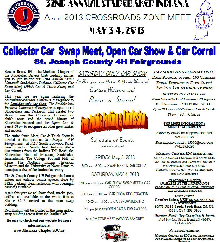 studebaker swap meet 2013 honda