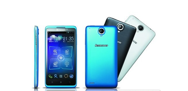 Lenovo LePhone S890, Ponsel Android ICS Layar 5 Inci Prosessor Dual Core 1.5GHz