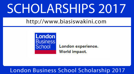 London Business School Scholarship 2017
