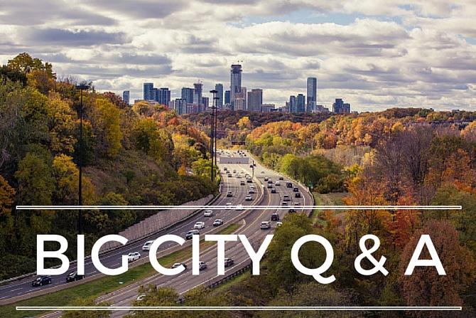 T.O. & fro Big City Q & A