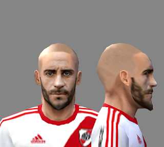 PES6|PES5|WE9 Face Javier Pinola (River Plate)
