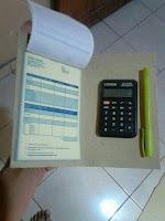 Buku Nota Penjualan Terintegrasi Dengan Kalkulator
