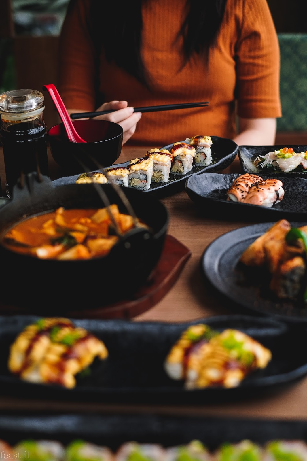Feast It Indonesia Food And Travel Blogger Sushi Tei Hamachi