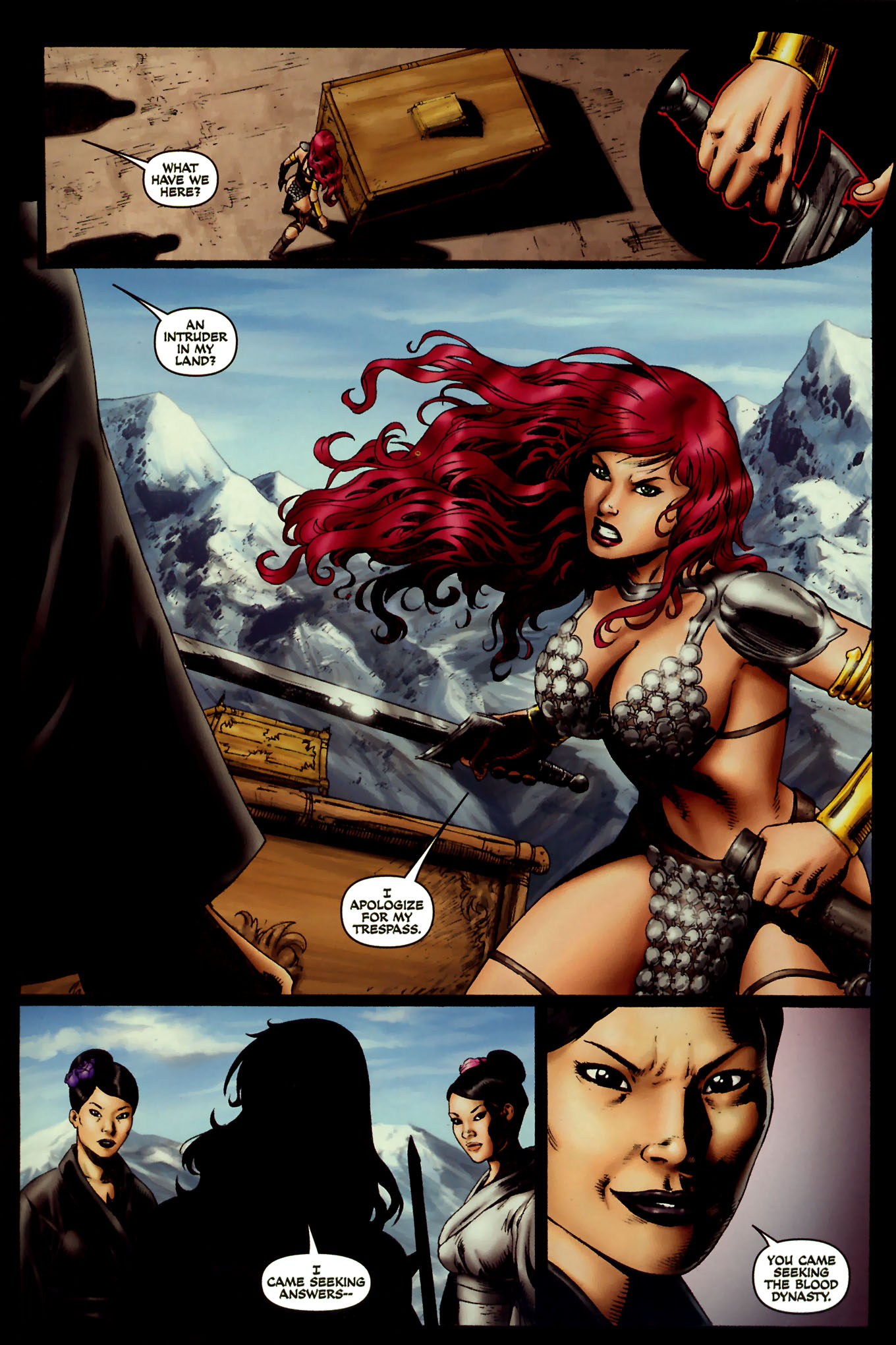 Read online Red Sonja (2005) comic -  Issue #45 - 16