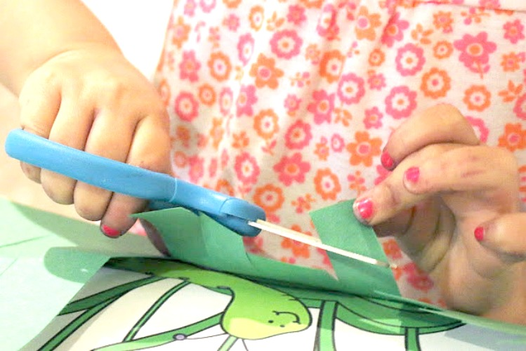 preschool scissor skills activity