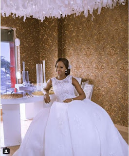 A model picture or the bread seller Olajumoke just Got married Again?