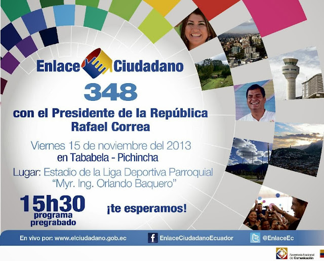 Enlace Ciudadano Sabatina Correa 16 noviembre