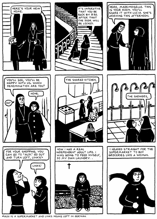Read Chapter 1 - The Soup, page 5, from Marjane Satrapi's Persepolis 2 - The Story of a Return