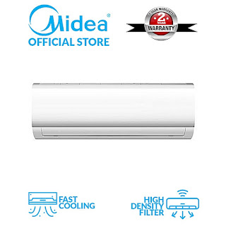 Midea 1.5HP A/C With Big Engine + Installation Kit