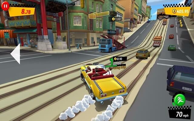 jogo Crazy Taxi
