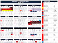 Kalender Pendidikan 2016/2017 Seluruh Provinsi di Indonesia