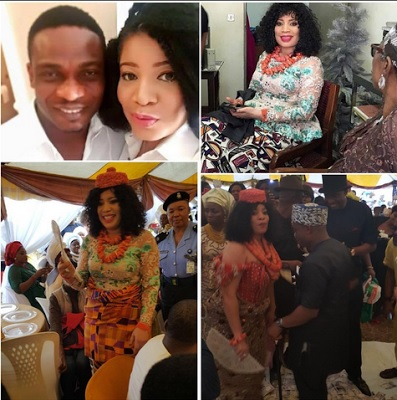First Photos from Monalisa Chinda's traditional wedding