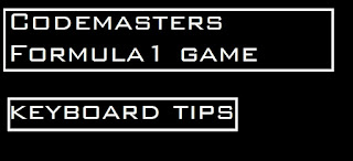 Codemasters Formula1 game: Keyboard tricks and car settings for better control.