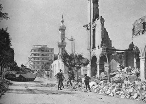العدوان الثلاثي على مدينة بور سعيد الباسلة