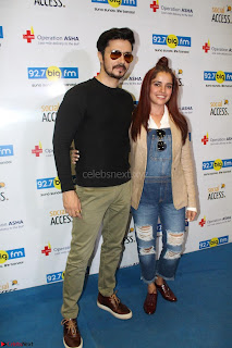 Piaa Bajpai launches TB Awareness Campaign with Darshan Kumaar 08.JPG