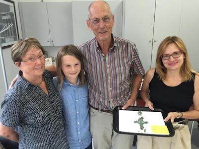 Αρχαίο χάλκινο αντικείμενο παραδόθηκε από Γερμανό τουρίστα στην Εφορεία Αρχαιοτήτων Πρέβεζας