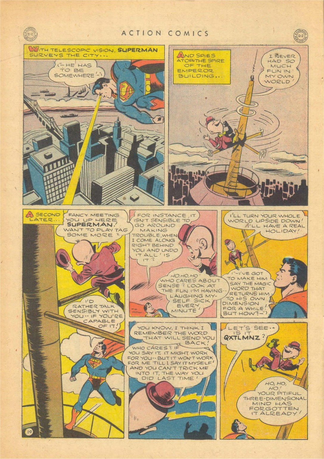 Read online Action Comics (1938) comic -  Issue #80 - 11