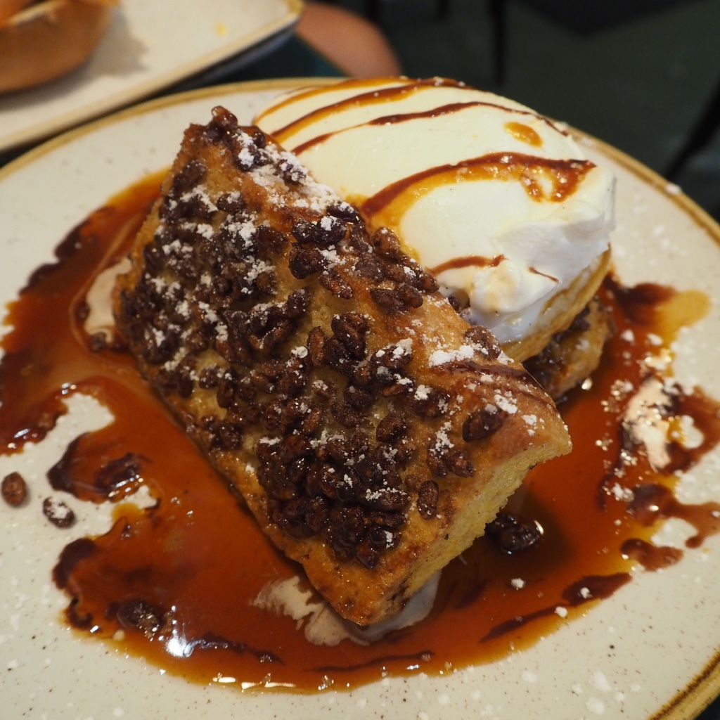 Coco pops french toast at San Lorenzos, Dublin