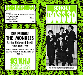 KHJ Boss 30 No. 97 - The Monkees