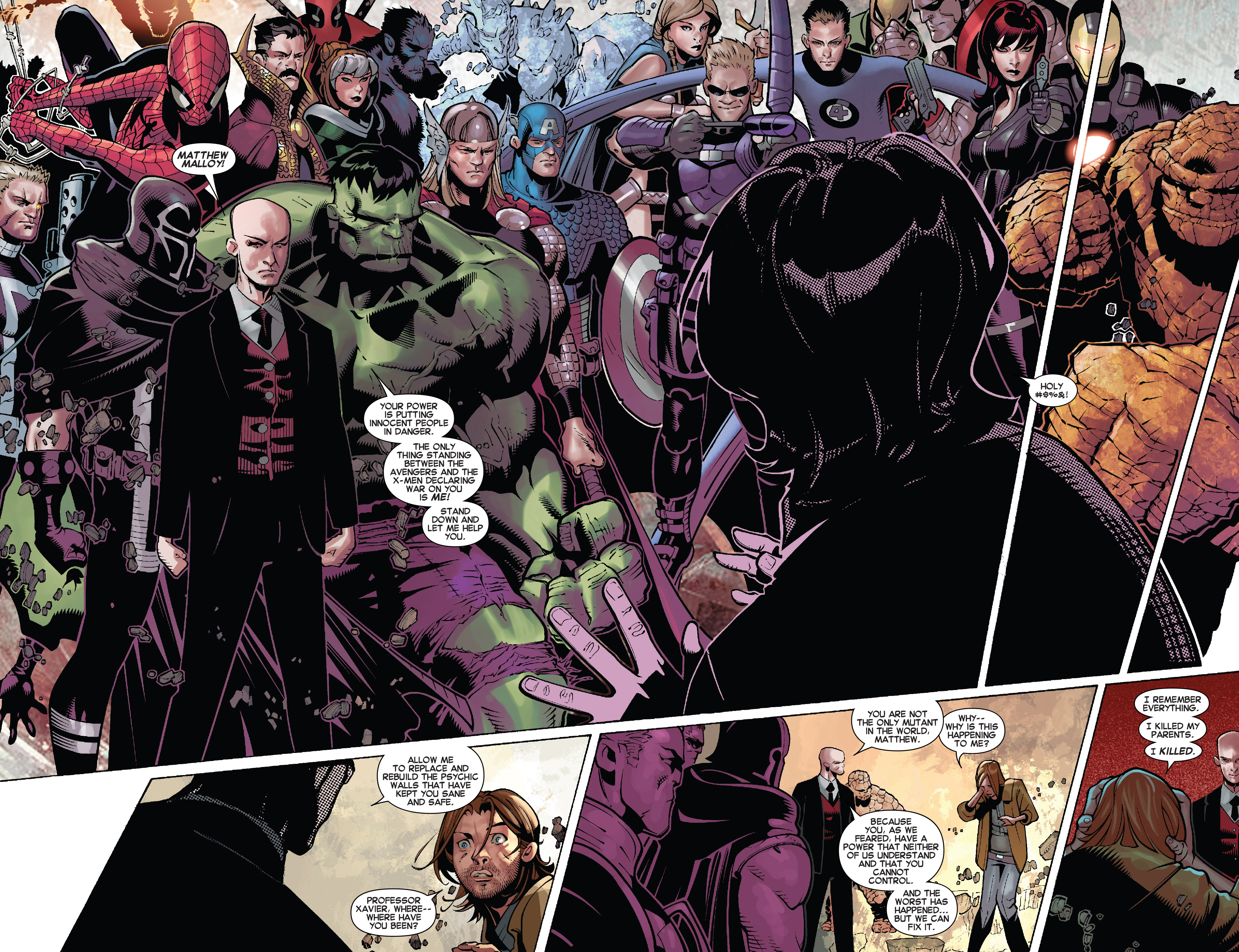 Read online Uncanny X-Men (2013) comic -  Issue # _TPB 5 - The Omega Mutant - 25