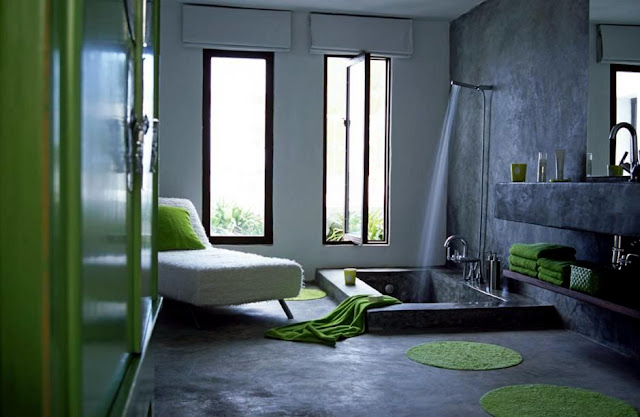 Beberapa Inspirasi Desain Kamar Mandi Berkonsep Sunken