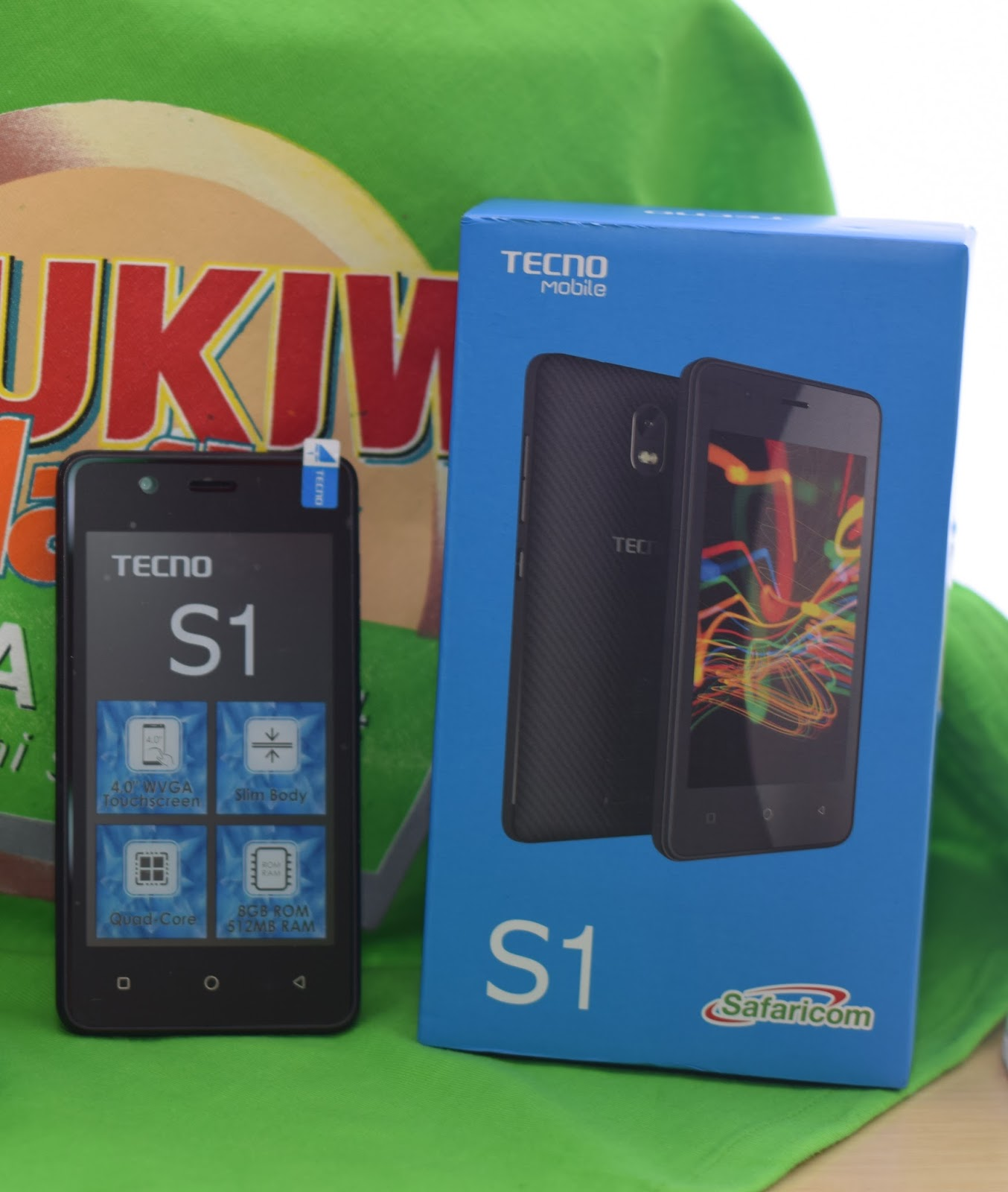 Tecno S1 one of smart phones on sale at a price of 4 500 =