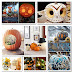 Creative Decoration from Pumpkins for Happy Halloween