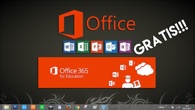 cara mudah untuk mendapatkan aplikasi Microsoft Office 365 gratis dan legal untuk sekolah