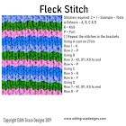 Fleck Knitting Stitch