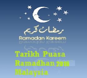 1 Ramadhan 2016