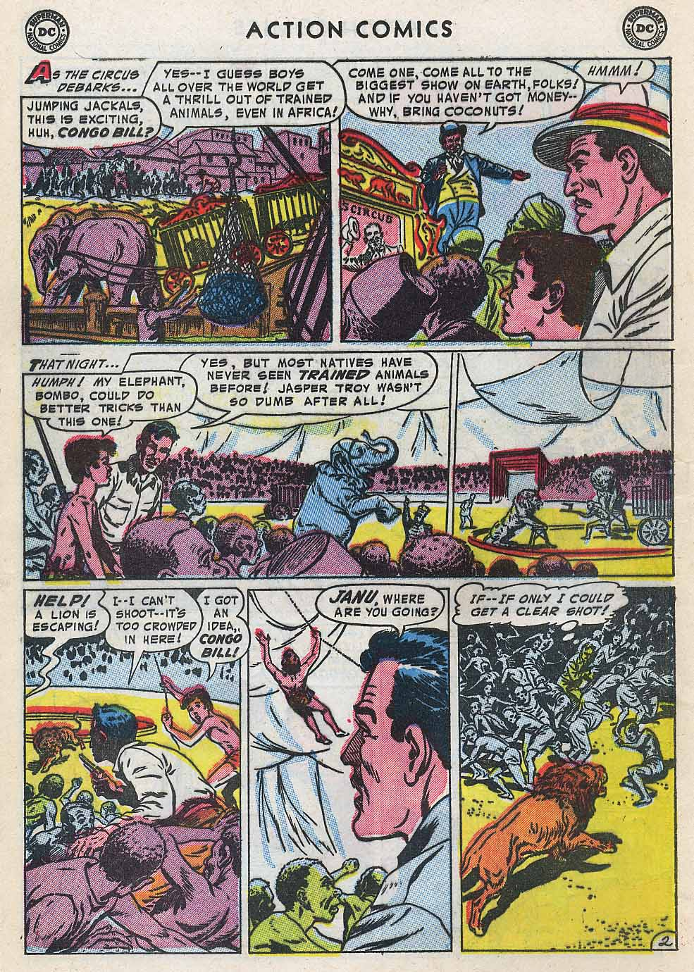 Read online Action Comics (1938) comic -  Issue #196 - 18