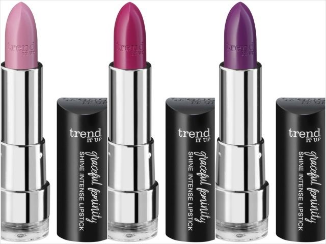 trend IT UP, Graceful Feminity Shine Intense Lippenstift, LE, Review,
