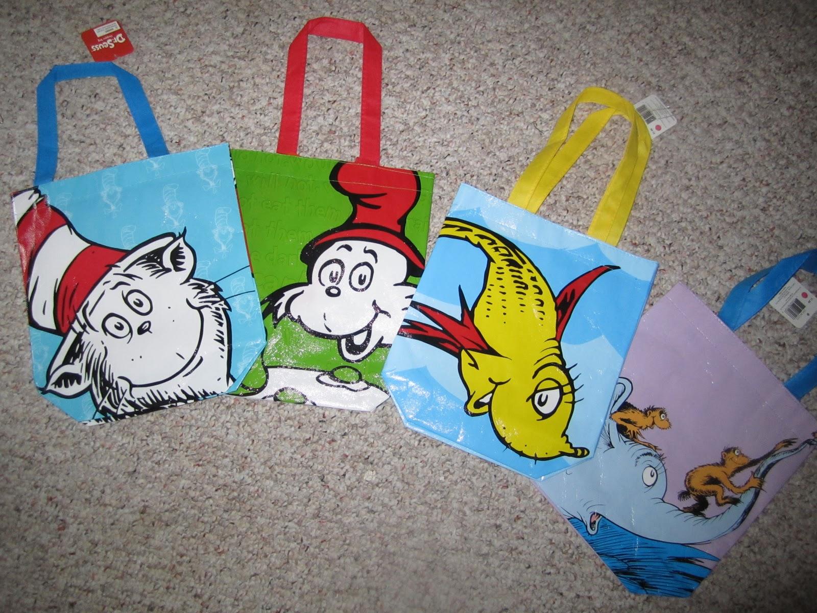 Dr Seuss Bags