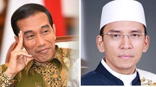 Lafal 'Al Fatekah' Jokowi Viral, TGB Kutip Hadist: Dia Mendapatkan Dua Pahala