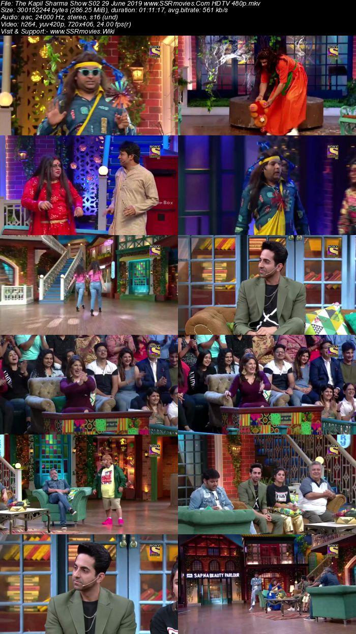 The Kapil Sharma Show S02 29 June 2019 Full Show Download HDTV HDRip 480p