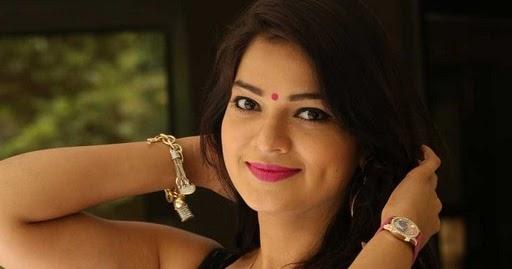 South actress Ashwini latest hot pics in red saree