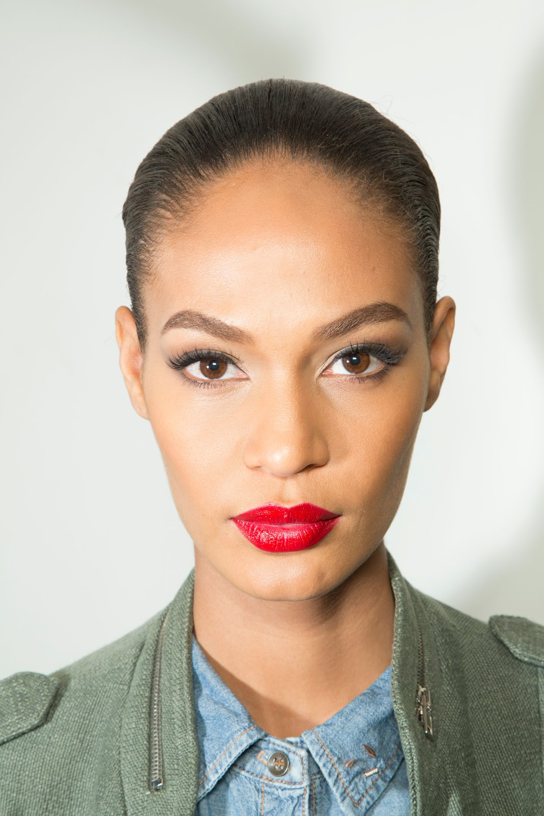 Joan Smalls At Topshop Fashion Show At London Fashion Week: Joan Smalls Jean Paul Gaultier S/S 2013 HQ +Backstage