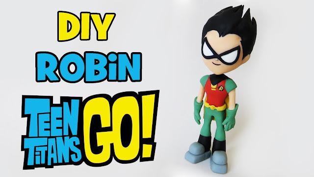 DIY: Como Fazer Robin de TEEN TITANS GO!