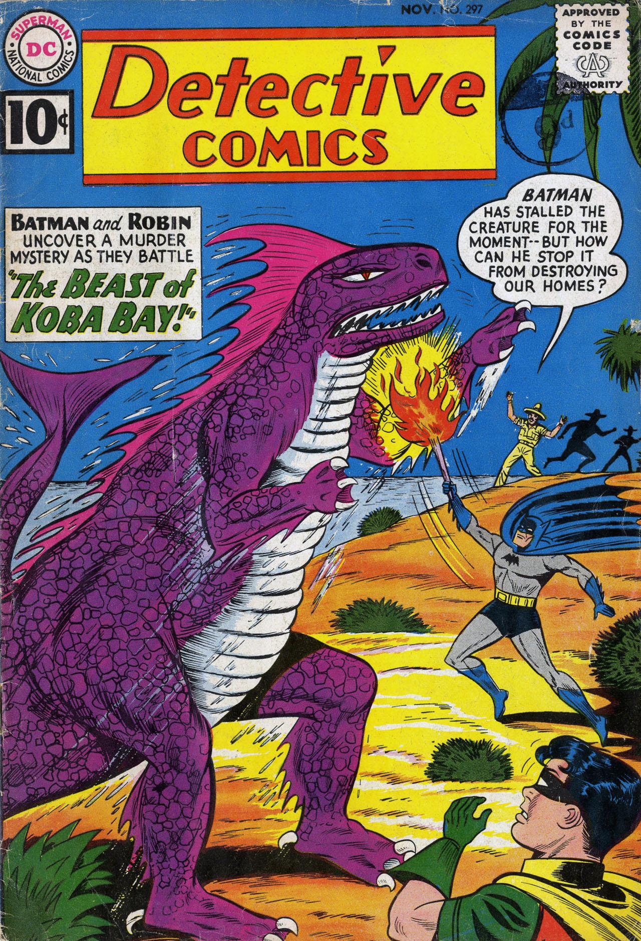 Detective Comics (1937) 297 Page 1