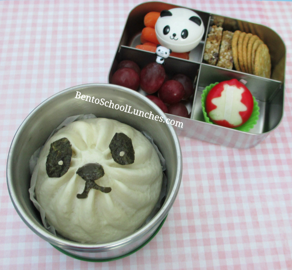Bbq steamed bun, Panda bento, Tips for packing hot food