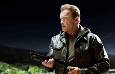 Arnold Schwarzenegger in Terminator Genisys, as T-800 (Model 101), Pops, Guardian, Directed by Alan Taylor