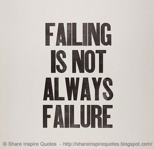 Funny Quotes For Love Failure: Falling Is Not Always Failure.