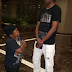 Kanu Nwankwo and actor Osita 'Paw Paw' Iheme stare each other down