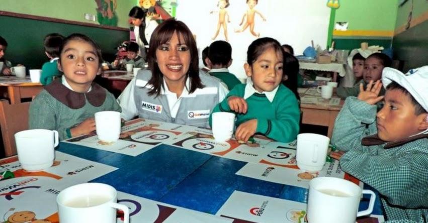 QALI WARMA: Programa social prevé atender este año a 3,419 colegios de Cajamarca - www.qaliwarma.gob.pe