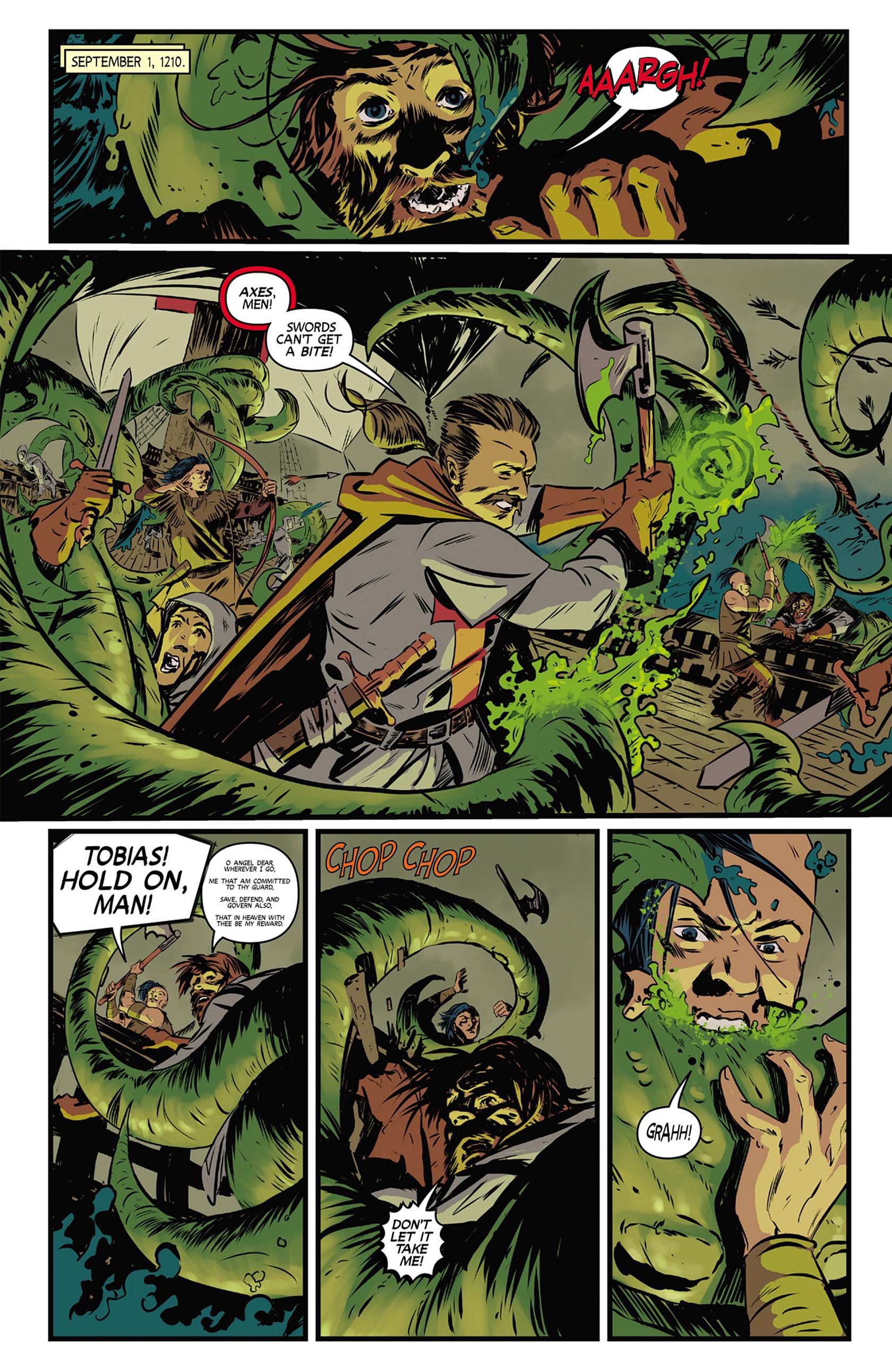 Read online Turok: Dinosaur Hunter (2014) comic -  Issue #9 - 19