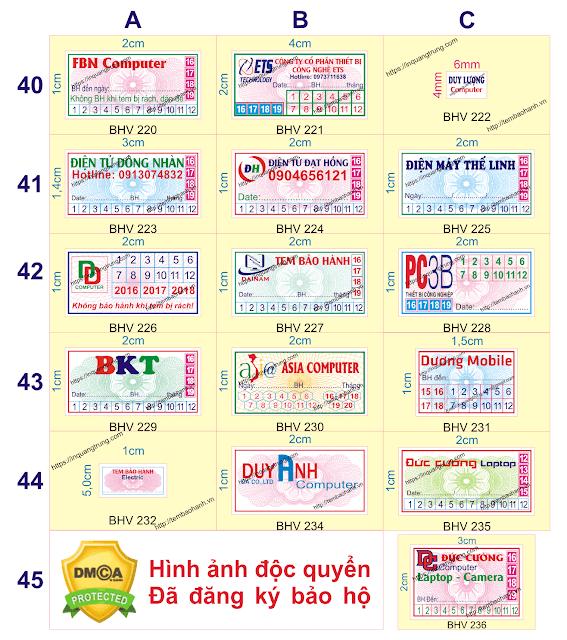 In tem vỡ bảo hành giá rẻ chất lượng cao thiết kế đẹp, in name card hà nội đẹp thiết kế miễn phí
